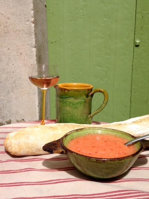 Soupe melon-tomates 1